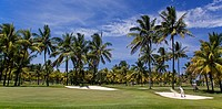 Golf Course in Belle Mare, Flacq, Mauritius, Africa
