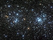 Double Star Clusters NGC 884 and NGC869