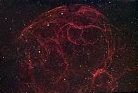 Simeis 147 Sh2_240, Supernova remnant in Taurus
