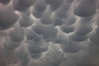 Mammatus in central Nebraska.