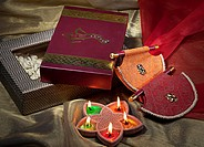 Diwali gifts and diyas