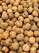 Walnuts close_up.