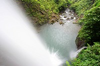 Waterfalls in the cloud forests of La Paz, Costa Rica
