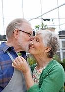 An elderly Scandinavian couple Sweden.