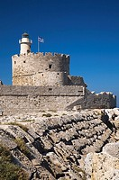 Old Fort Saint-Nicholas, Rhodes, Greece