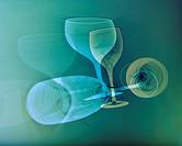 Two wineglasses Sweden