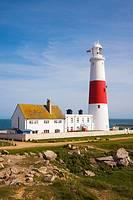 Portland Bill Lighthouse. Isle of Portland. Dorset. England. UK.