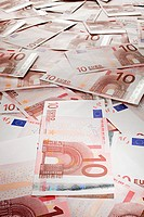 Ten euro banknotes