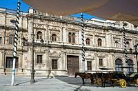 Ayuntamiento ´City Hall´. Seville. Andalucia. Spain.