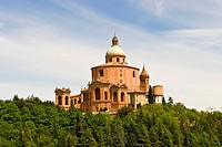Sanctuary of the Madonna of San Luca, bologna, emilia romagna, italy