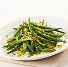 french beans mimosa