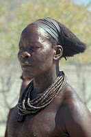 namibia, himba people