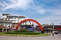 Asia, China, Jiangsu Province, Nan Jing, Confucius Temple, Pedestrian Street