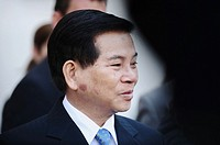 President of Vietnam Nguyen Minh Triet photographed in Santiago de Chile, Chile (September 30th, 2009)