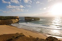 London Bridge, coastal feature along the Great Ocean Road, Victoria, Australia