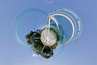 spheregraphy Image, spherical panorama of 360degrees in every direction