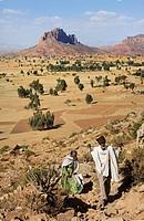 Gheralta range. Hawsien region. Tigray. Ethiopia.