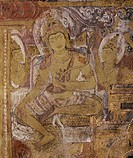 The Bodhisattva, Avalokiteshvara in Abeyadana Temple, dating from the late 11th century, Myinkaba, Myanmar Burma, Asia