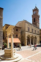 Pienza, Val d´Orcia, Tuscany, Italy, Eruope