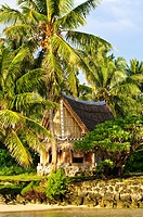 Men´s house, Yap, Micronesia, Pacific