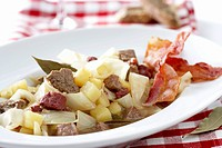 Schlodderkappes White cabbage & potato stew, Ruhr district