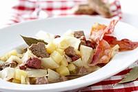 Schlodderkappes White cabbage & potato stew, Ruhr district