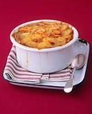 Lancashire hotpot Meat and potato casserole, England