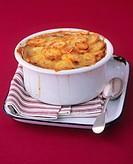 Lancashire hotpot Meat and potato casserole, England