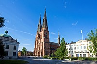 Sweden, Uppsala, church, cathedral, travel, traveling, tourism, holidays, vacation