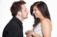 Bi-racial couple