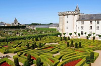 Ch&#226;teau de Villandry, Indre-et-Loire, France