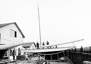cantiere navale, genova, italia 1920_30