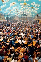 Octoberfest in Munich. Bavaria, germany
