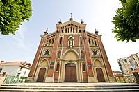 chiesa di san pietro in consavia, asti, piemonte, italia