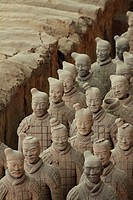 Terra Cotta Warriors in Xi´an