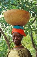 Mujer Bedik, Senegal  Bedik woman, Senegal