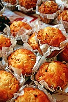 Muffins, Pastry.