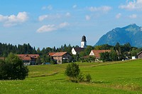 Ofterschwang, Hoernerdoerfer, Allgaeu, Bavaria, Germany, Europe