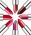 Lipsticks in a circle