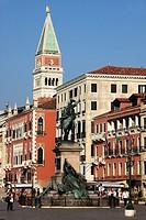 Italy, Venice, Riva degli Schiavoni