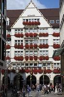Germany, Bavaria, Munich, Kaufinger St pedestrian zone
