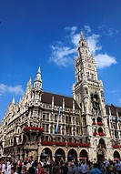 Germany, Bavaria, Munich, New City Hall, Neues Rathaus