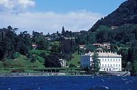 Villa Melzi d'Eril in Bellágio, garden, Lake Como, Upper Italian Lakes, Lombardy, Italy, Europe