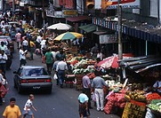 Fruit market, San Jose, Costa Rica.