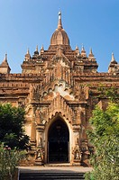 Guphaya Temple, Old Bagan, Pagan, Burma, Myanmar, Asia