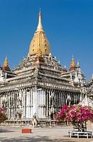 Ananda Temple, Old Bagan, Pagan, Burma, Myanmar, Asia