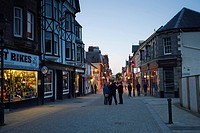 Fort Williams High Street, Scotland, United Kingdom, Europe