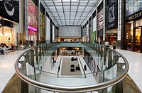 Fashion Avenue with 70 shops of the Haute Couture, Dubai Mall, Dubai, United Arab Emirates, Middle East