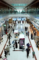 Duty Free area at Dubai International Airport, New Terminal 3, exclusively for Emirates Airlines, Dubai, United Arab Emirates, Middle East
