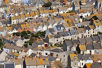 Townhouses in Fortuneswell, Dorset, England, UK, Europe